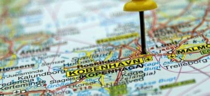 Mappa di Copenaghen